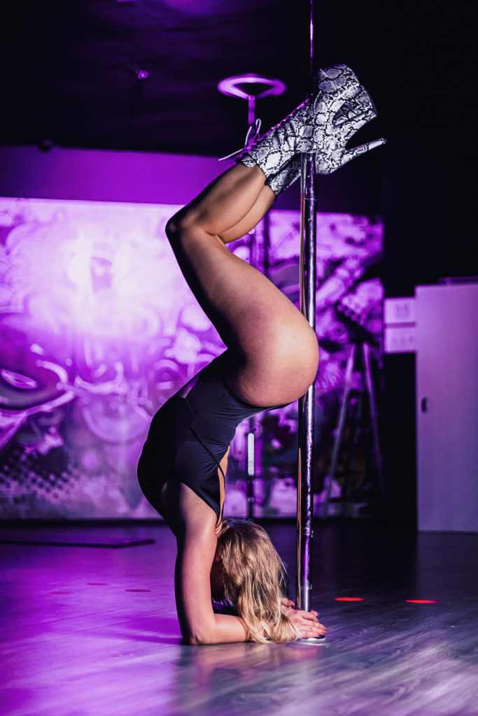 poledance high heels