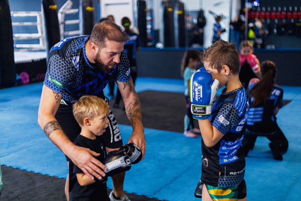 kickboxen training kidskurse