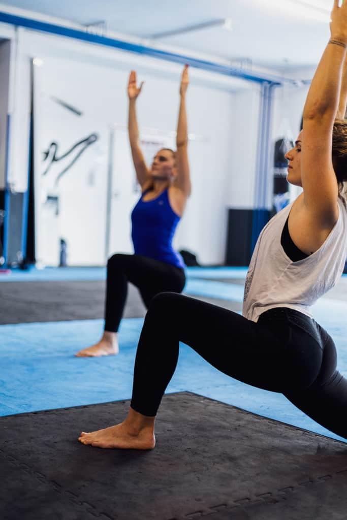 streching yoga